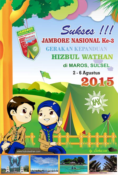 Poster Jamnas HW ke-3 di Makassar