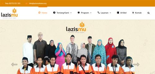 Website Lazismu